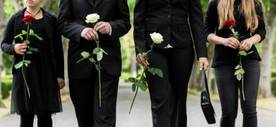 Vestito nero da funerale